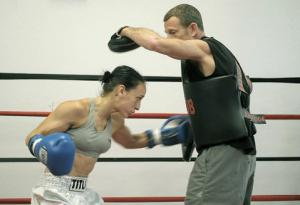 Federica, the boxer (courtesy of SB Independent)