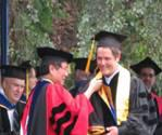 Chancellor Yang, Graduation Ceremony